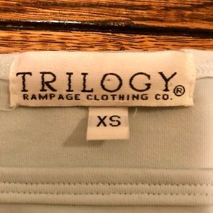 Trilogy Rampage Clothing Company Tops - Trilogy Rampage Clothing Company XS Crop Top
